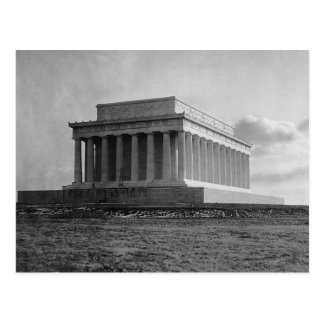 Construction du Lincoln Memorial (1920) Carte Postale