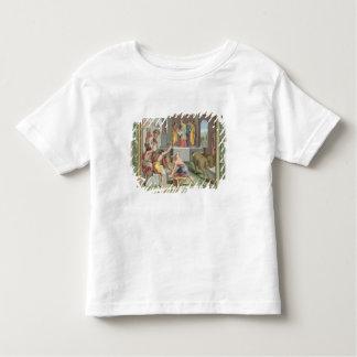 Construction du temple de Solomon, illustration de T-shirt Pour Les Tous Petits