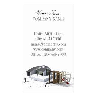 construction moderne de menuiserie de bricoleur de cartes de visite personnelles. Black Bedroom Furniture Sets. Home Design Ideas
