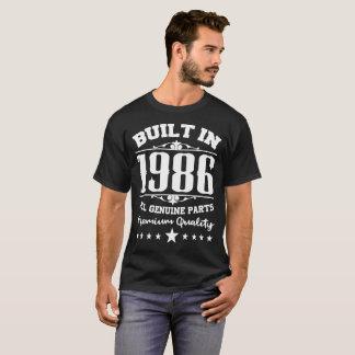 CONSTRUIT EN 1986 TOUTE LA QUALITÉ DE LA MEILLEURE T-SHIRT