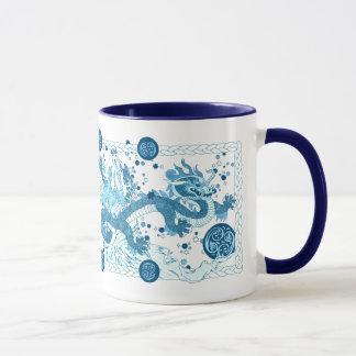 Conte céleste de dragon mug