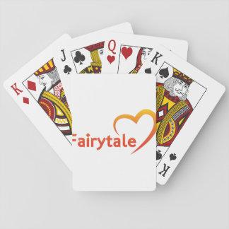 Conte de fées avec amour jeux de cartes