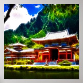 Conte de fées chinois affiche