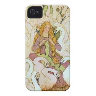 Conte de fées de cygnes sauvages coques iPhone 4