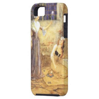 Conte de fées vintage, Cendrillon et marraine Étui iPhone 5