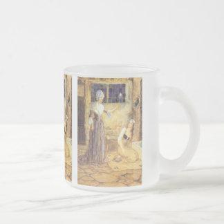 Conte de fées vintage, Cendrillon et marraine Mug En Verre Givré