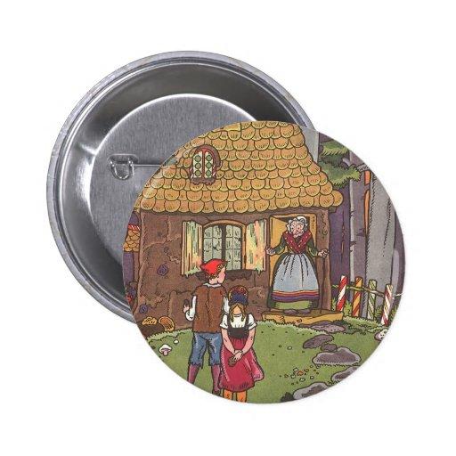 Conte de fées vintage de Hansel et de Gretel par H Pin's