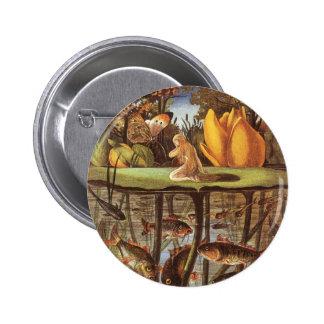Conte de fées vintage de Thumbelina, Eleanor Vere Badge Rond 5 Cm