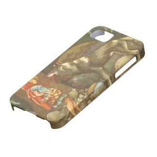 Conte de fées vintage, peu de capuchon rouge coques iPhone 5