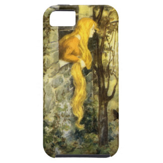 Conte de fées vintage, Rapunzel avec de longs Coque Tough iPhone 5