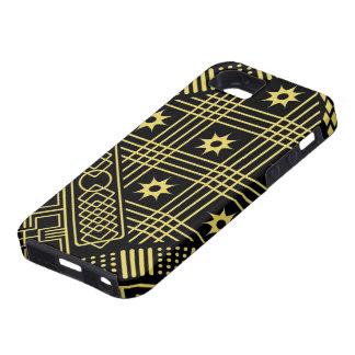 Contemporain : Conception africaine de style Coques iPhone 5