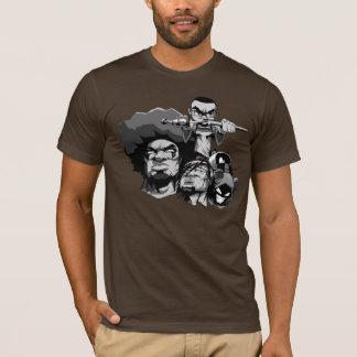 Contenu avec le T-shirt de caractères de KAOS