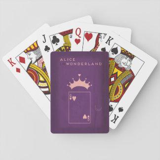Contes de fées minimalistes | Alice au pays des Cartes À Jouer