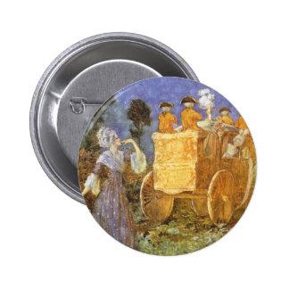 Contes de fées vintages, Cendrillon, marraine Badge Rond 5 Cm