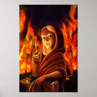 Contes défaits - la petite pyromane aux allumettes poster