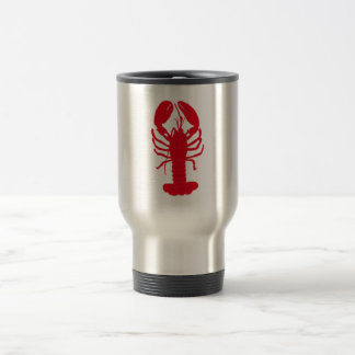 Contes rouges de homard mug de voyage