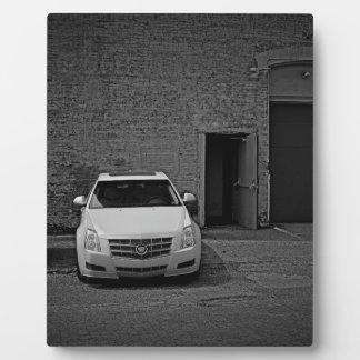 Contraste de Cadillac Plaque Photo