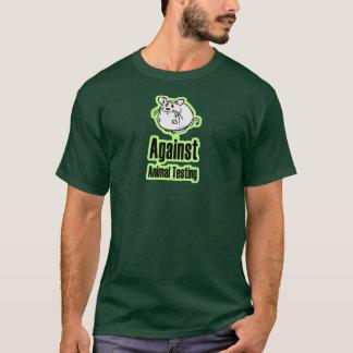 Contre l'expérimentation animale t-shirt