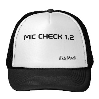 CONTRÔLE 1,2, Ako Mack de MIC Casquettes De Camionneur