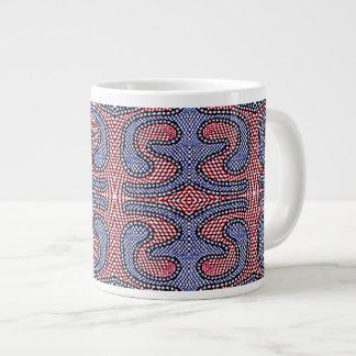 Contrôle américain de guingan de grande de café tasse géante