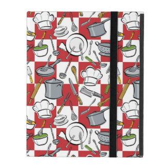 Contrôle d'outils de cuisine étui iPad