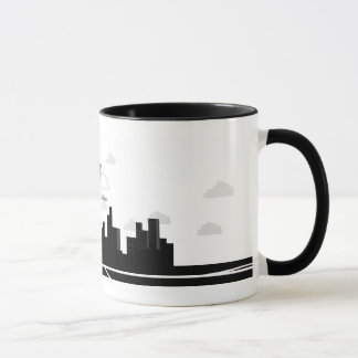 Contrôle du trafic aérien mug