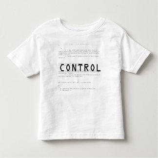 Contrôle T-shirts
