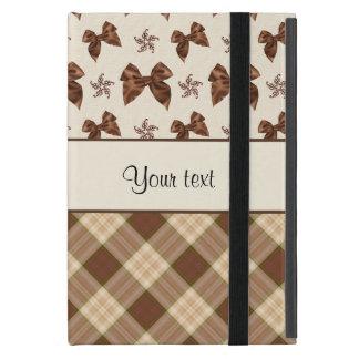 Contrôles de Brown et beaux arcs Coques iPad Mini