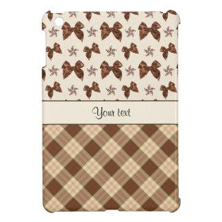 Contrôles de Brown et beaux arcs Coques Pour iPad Mini