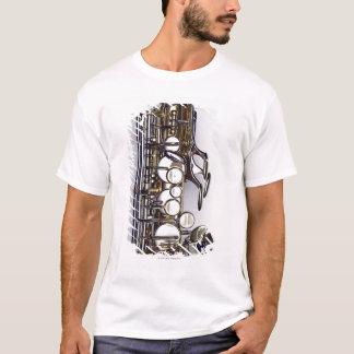 Contrôles de saxophone t-shirt