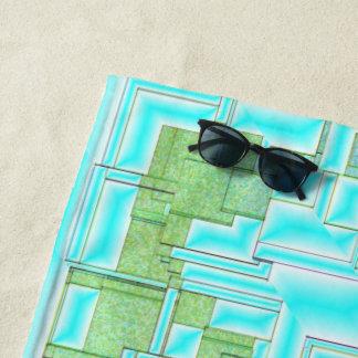 contrôles, serviette de plage, métier, vacances,
