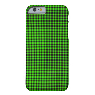 Contrôles verts et noirs coque iPhone 6 barely there