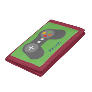 Contrôleur vert de jeu vidéo