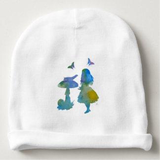Conversation avec une chenille bonnet de bébé