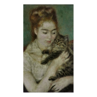 Conversation d'Au de Femme - Pierre Auguste Renoir Cartes De Visite Professionnelles