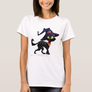 Conversation Halloween noir T-shirt