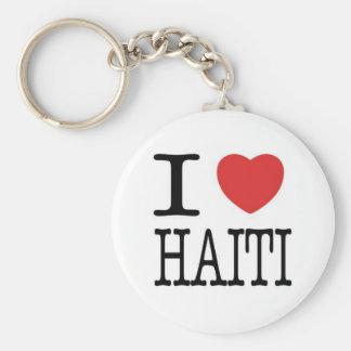 Conversations avec la vie : Clé d'I <3 Haïti Porte-clé Rond