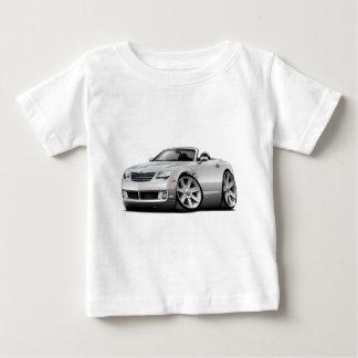Convertible blanc de courant perturbateur t-shirt