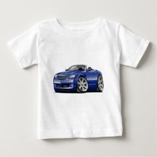 Convertible bleu de courant perturbateur t-shirts