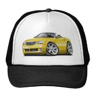Convertible jaune de courant perturbateur casquettes de camionneur