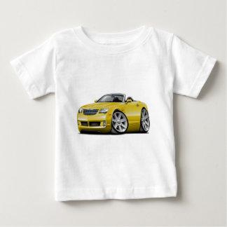 Convertible jaune de courant perturbateur t-shirt