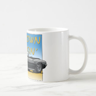 Convertible noir de 68 Firebird Mug