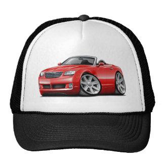 Convertible rouge de courant perturbateur casquettes