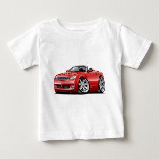 Convertible rouge de courant perturbateur t-shirts