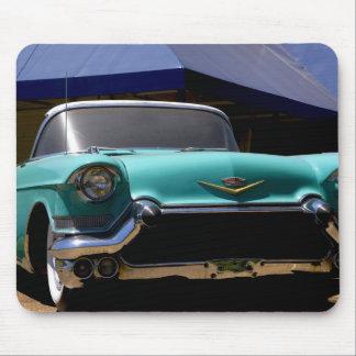 Convertible vert de Cadillac d'Elvis Presley dedan Tapis De Souris