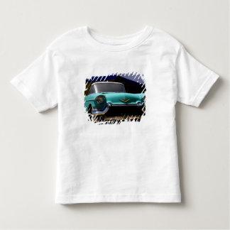 Convertible vert de Cadillac d'Elvis Presley T-shirt