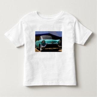 Convertible vert de Cadillac d'Elvis Presley T-shirts