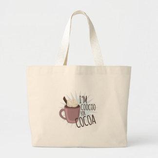 Coocoo pour le cacao sacs de toile