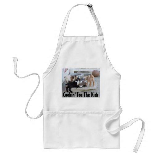 Cookin pour les enfants tablier