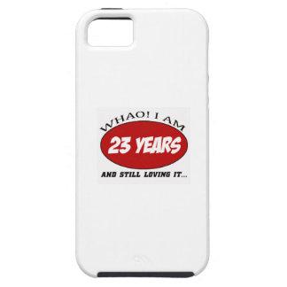 cool conceptions d'anniversaire de 23 années étuis iPhone 5